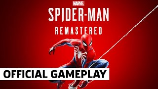 Marvel's Spider-Man Remastered  - Performance Mode 60fps Gameplay