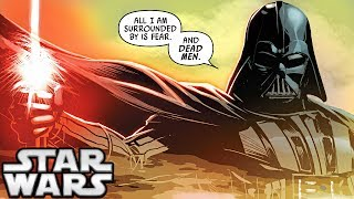 How Darth Vader Killed a FULL SQUADRON of Rebels (Canon) - Star Wars Explained