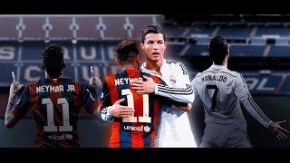 Neymar vs Cristiano Ronaldo. Skilss and gols HD