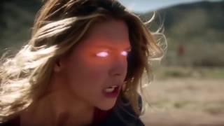 Супергерл и Марсианский Охотник против Нона и Индиго в сериале