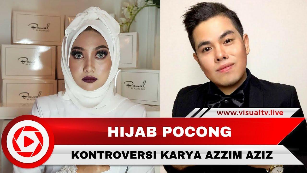 Viral Hijab Pocong Karya Desainer Malaysia yang Menakutkan