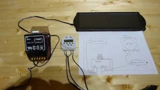 12 Volt Kfz Solar Charger mit Timer