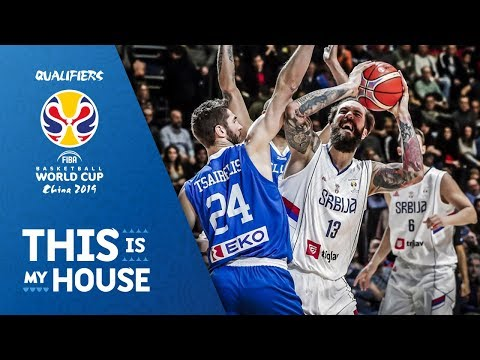Serbia V Greece Highlights Fiba Basketball World Cup
