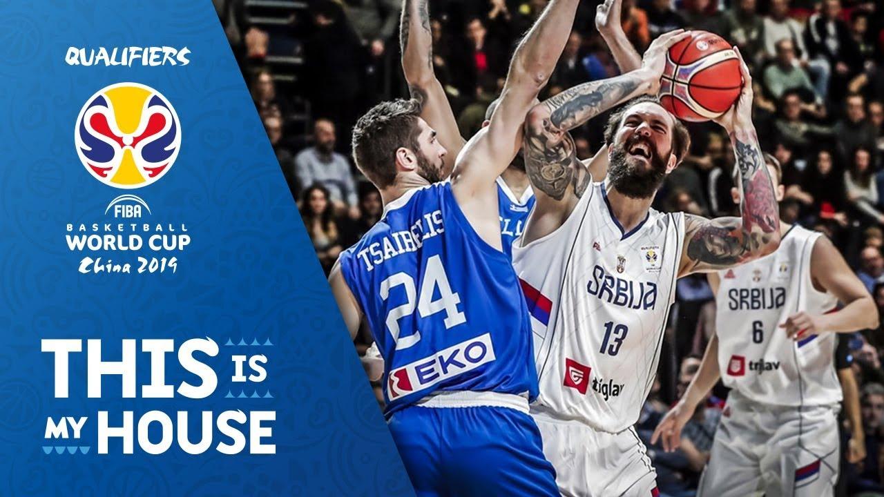 Serbia V Greece Highlights Fiba Basketball World Cup 2019 European Qualifiers