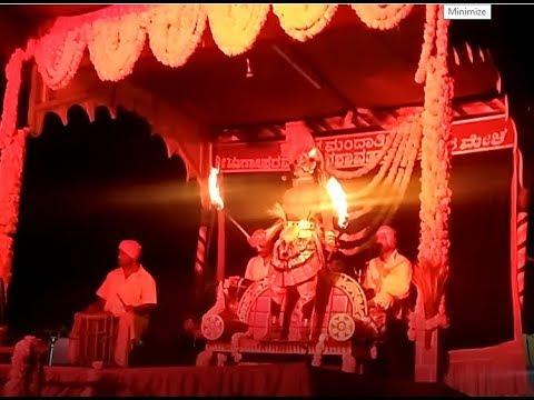 ಶ್ರೀ ದೇವಿ ವೀರಭದ್ರ, ಹೈಗುಳಿ ಪ್ರವೇಶ    Yakshagana Mandarthi Kshetra Mahatme - 30
