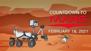 Feb. 18: Our Perseverance Rover & Ingenuity Helicopter Arrive at Mars