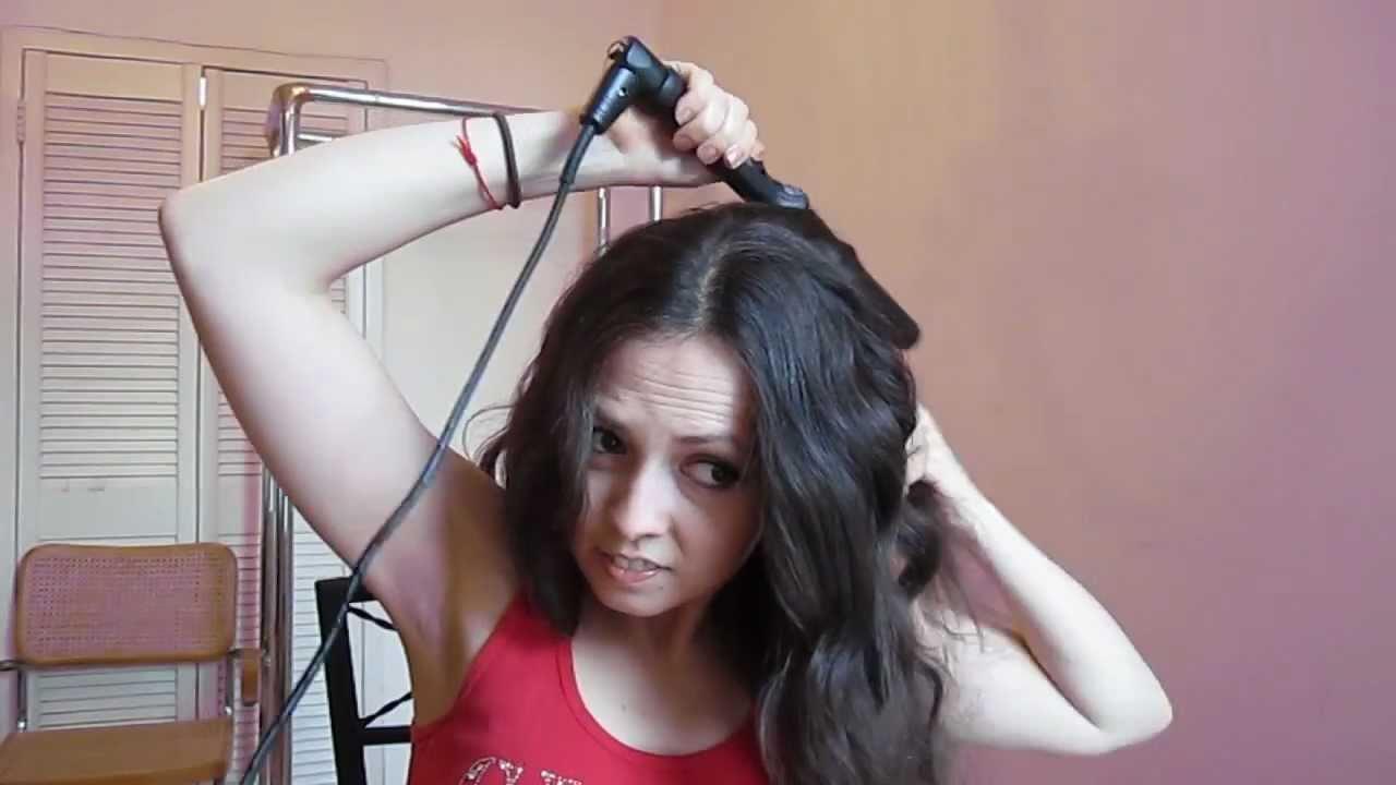 Mila Kunis Inspired Wavy Hair Tutorial Youtube