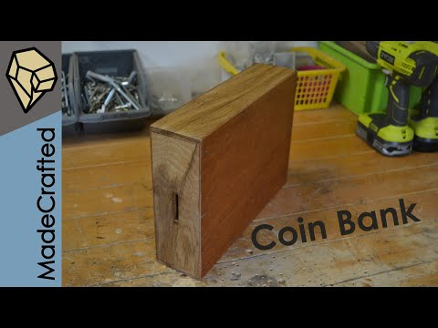 How To Make A Wooden Money Box