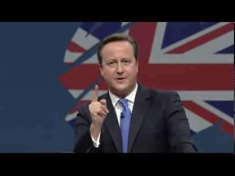 David Cameron speaks at #cpc13
