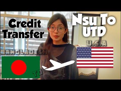 Undergraduate Credit Transfer| Bangladesh to USA| Fabiha Azam Bushra