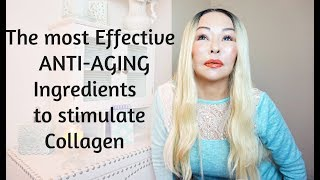 The Most Effective Anti Aging Ingredients to Stimulate Collagen-Change how your face is AGING