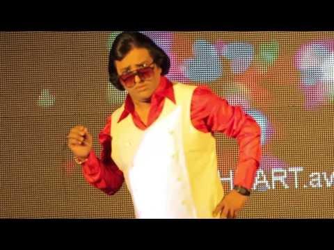 NAGESH as Rajesh Khanna   Gulabi akhein jo teri dekhi