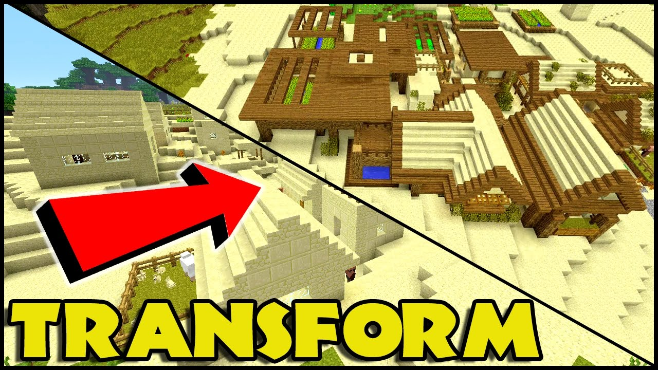 minecraft how to get a village