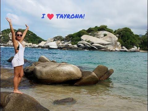 In love with Tayrona National Park #2. Exploring Colombia!
