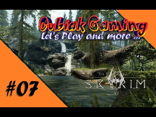 DRACHEN-BBQ ★ Let's Play The Elder Scrolls V: Skyrim Remastered #07