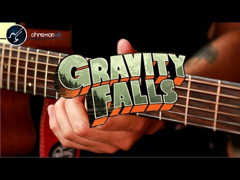 Gravity Falls Guitarra Acustica INTRO | Theme Christianvib