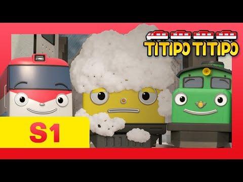 TITIPO S1 EP16 l A new train Loco hates Titipo and friends?! l TITIPO TITIPO