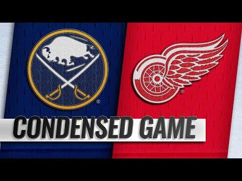Обзор матча «Детройт Ред Уингз» — «Баффало Сэйбрз»
