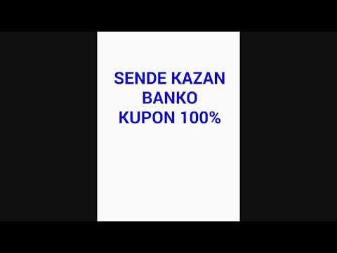 Para kazanma Iddaa kupon BANKO 100%  13.10.2018