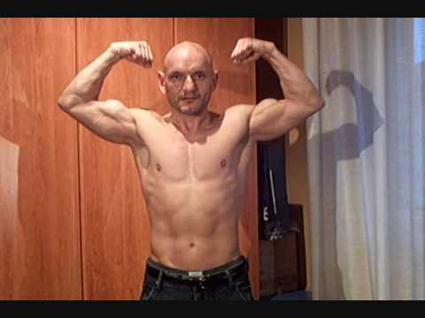 50 years old natural bodybuilder michele - YouTube