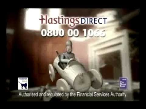 Hastings Direct Classic Car Insurance Advert - 2005