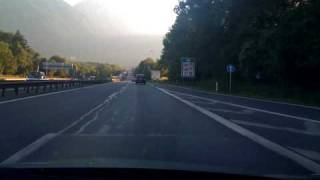 INTO THE SUNSET: Driving from Salzburg to Innsbruck - iTimelapse on iPhone 3G