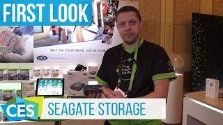 Seagate Fast SSD and LaCie DJI Copilot #CES2018