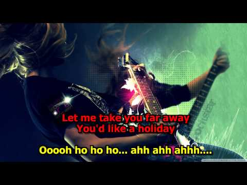 HOLIDAY -- Scorpions Karaoke