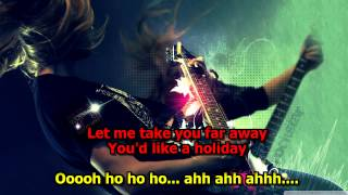 Holiday - Scorpions (Karaoke) HD