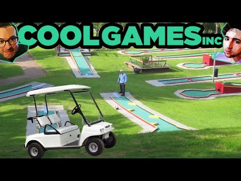 Griffin and Nick Create a Mini-Golf MMORPG (with Mr. Bucket) — CoolGames Inc Animated