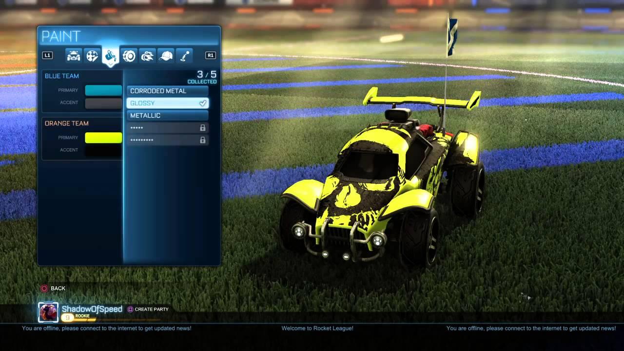 Rocket League Best Custom Cars