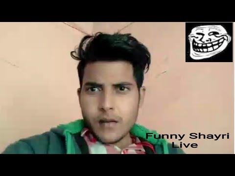 Funny Shayri | Comedy Shayari | Jhandu Shayar Live