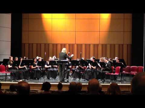 """Copley High School Clarinet Choir """"Appalachian Lullaby"""" February 23, 2015"""