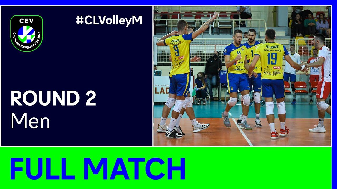 Mladost ZAGREB vs. ČEZ KARLOVARSKO - CEV Champions League Volley 2022 Men | Round 2