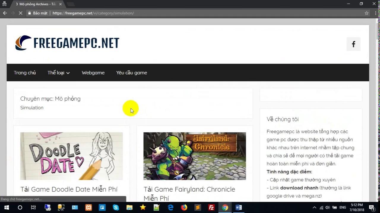 Web tải game miễn phí hàng đầu VN