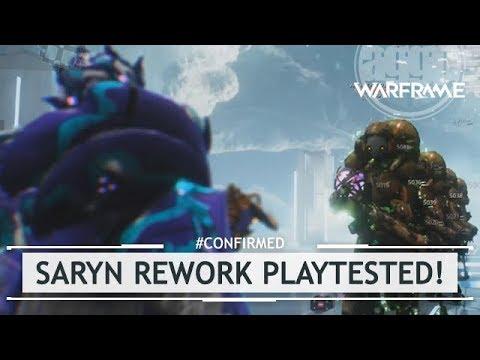 Warframe: 100,000 Damage Per Tick? Saryn Re-Rework LIVE Playtest!