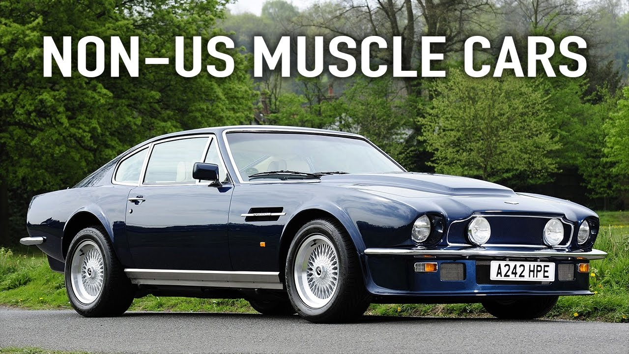 9 Possible Muscle Cars Which Are Not From America - YouTube