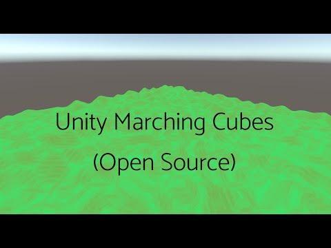 Unity C# Marching Cubes voxel terrain [Open Source] : VoxelGameDev