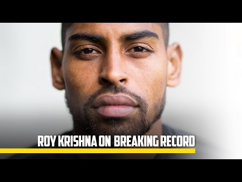 MEDIA | Roy Krishna on Breaking Goal Scoring Record