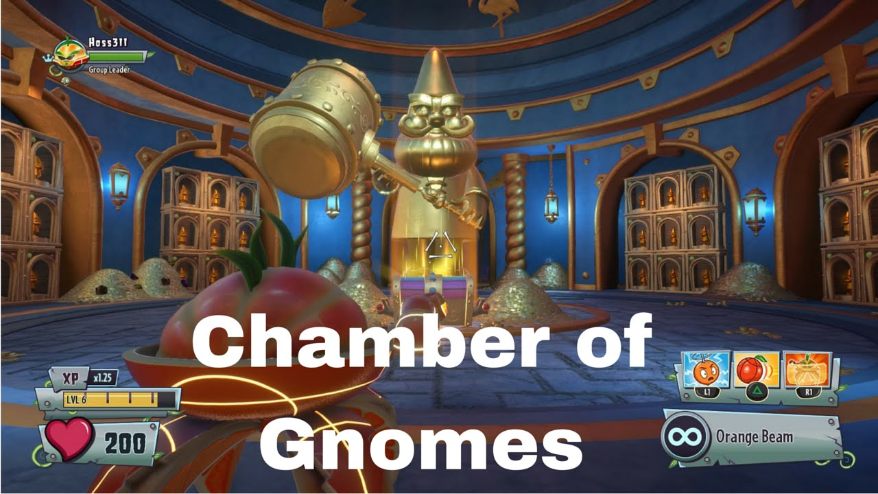 Plants Vs Zombies Garden Warfare 2 How To Access The Chamber Of Gnomes Youtube