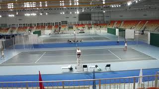 Полуфинал Шолохова - Борозденко . Первый сет, 1 часть.