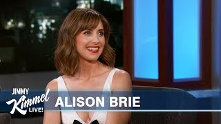 Alison Brie on Working with Husband Dave Franco & Falling at a Restaurant