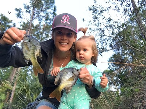 Bluegill Catch, Clean, Cook... Wife Edition!!