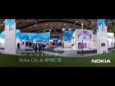 Video tour of Nokia City at Mobile World Congress 2018