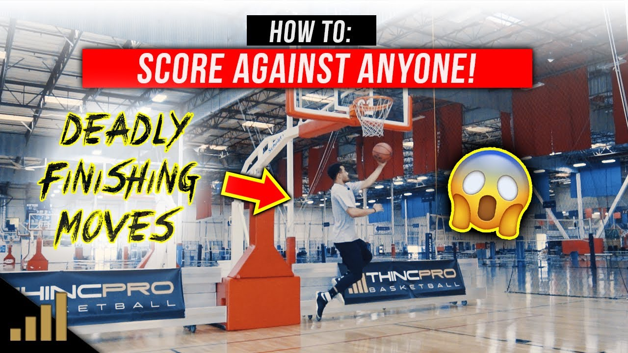 How to: SCORE AGAINST ANYONE! Use this to Improve Your Weak Hand Finishing At The Rim!