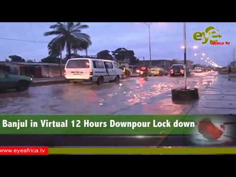 Banjul in Virtual 12 Hours Downpour Lock down