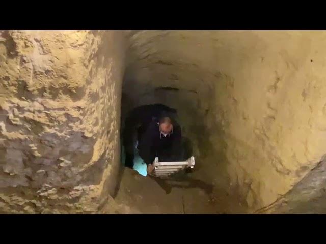 Túnel de la Guerra Civil en Maó