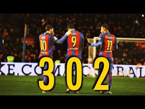 MSN ● All 302 Goals ● Messi Suarez Neymar   HD  