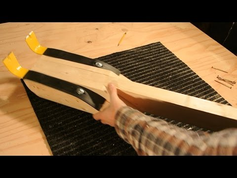 How To: Pallet Pry Bar With No Welding!!