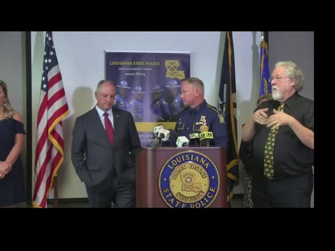 Gov. Edwards to Announce Permanent Louisiana State Police Superintendent